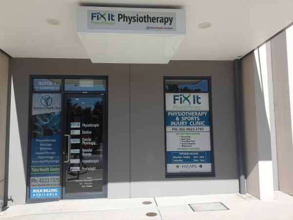 Fix It Physio front entrance